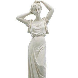 Tanagra Famous Greek Statue - Alabaster